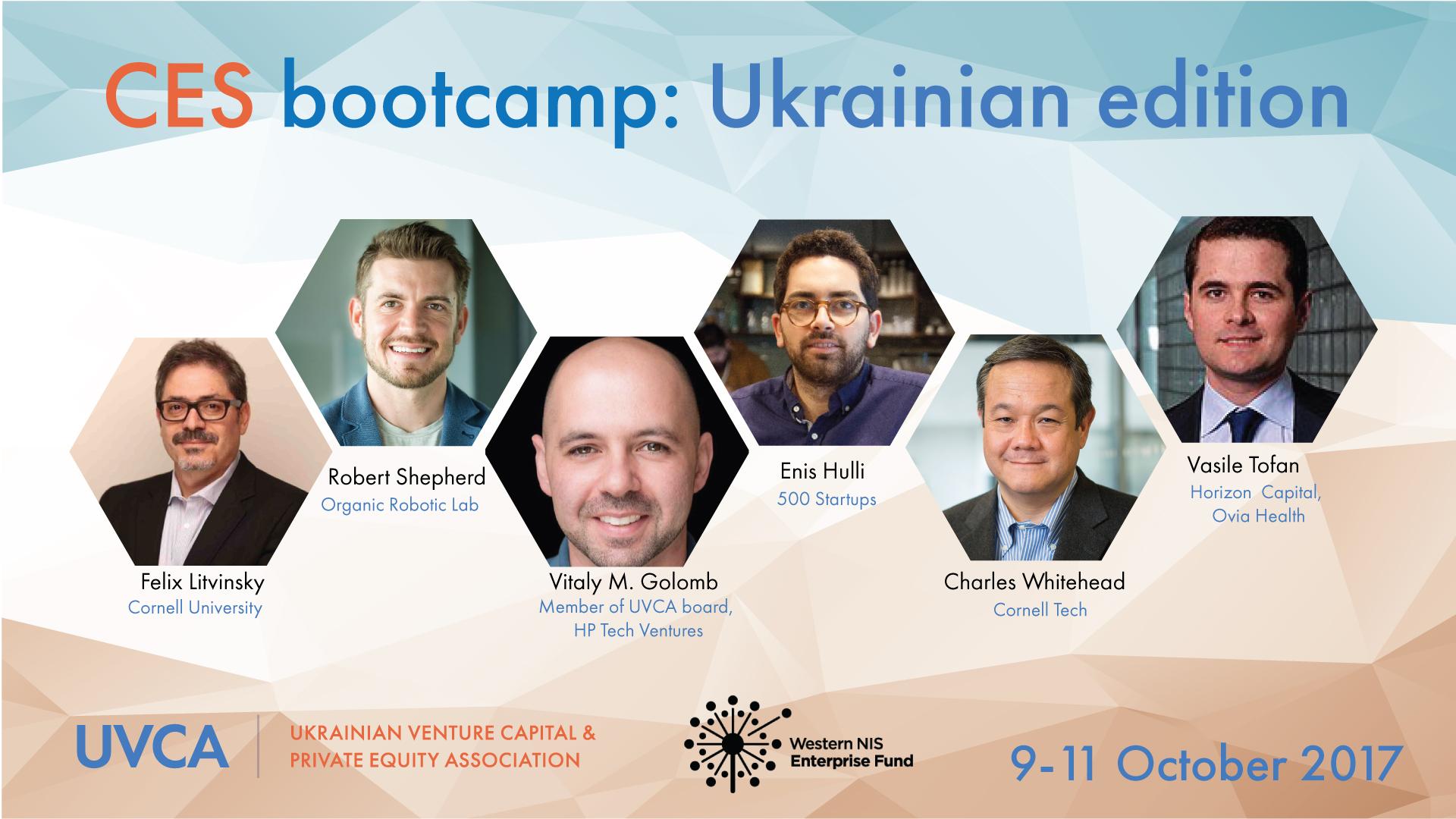 CES bootcamp: Ukrainian edition