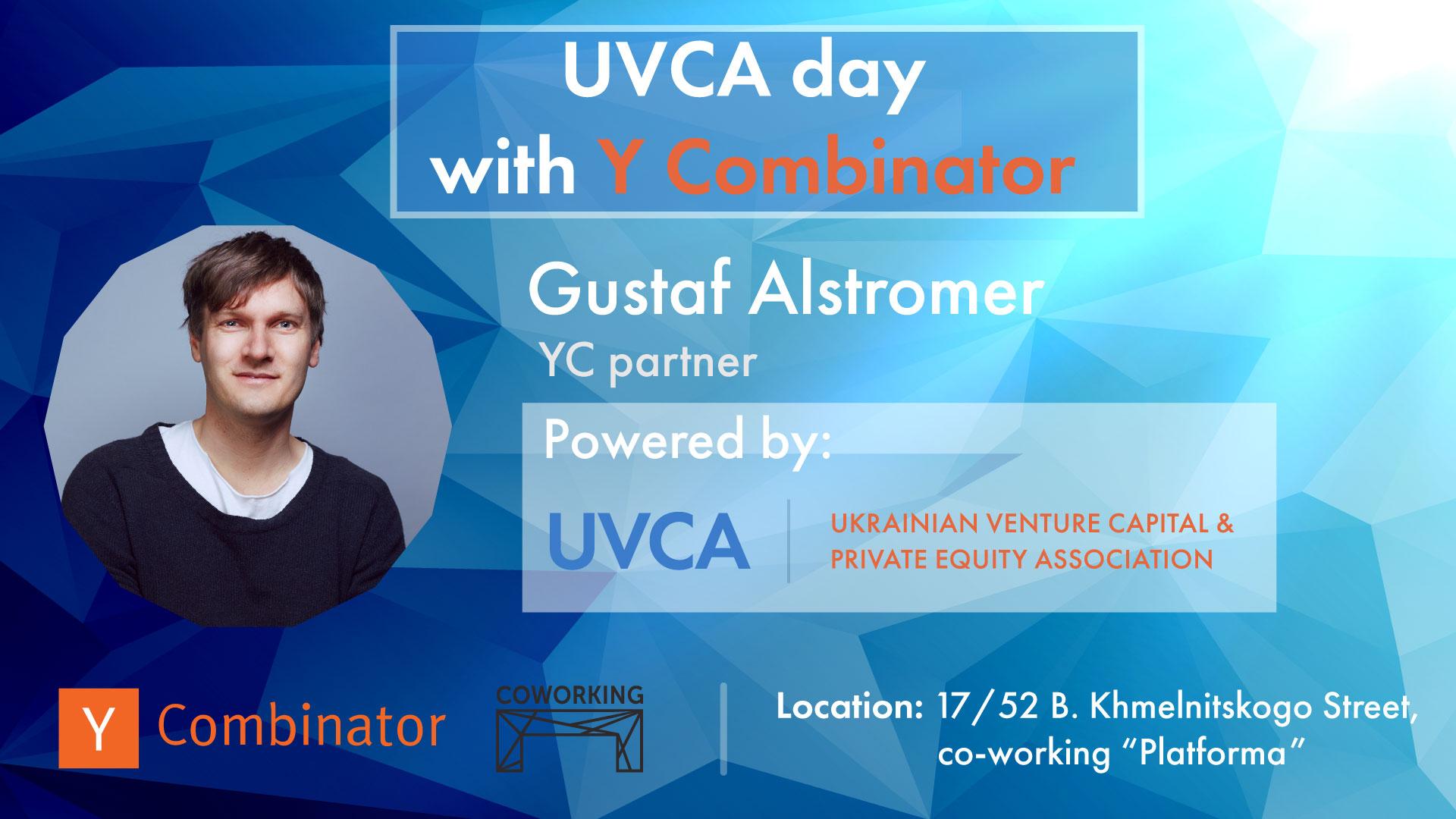 UVCA Day with YCombinator: September 20